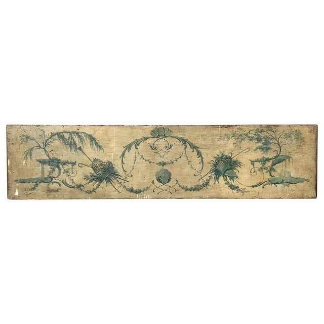 Venetian Painted Wood Panel For Sale - Image 5 of 5