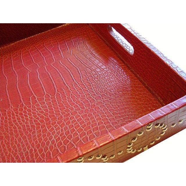 Medium size Studded Croc Tray - Image 4 of 5