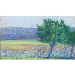 Small Landscape Pastel For Sale
