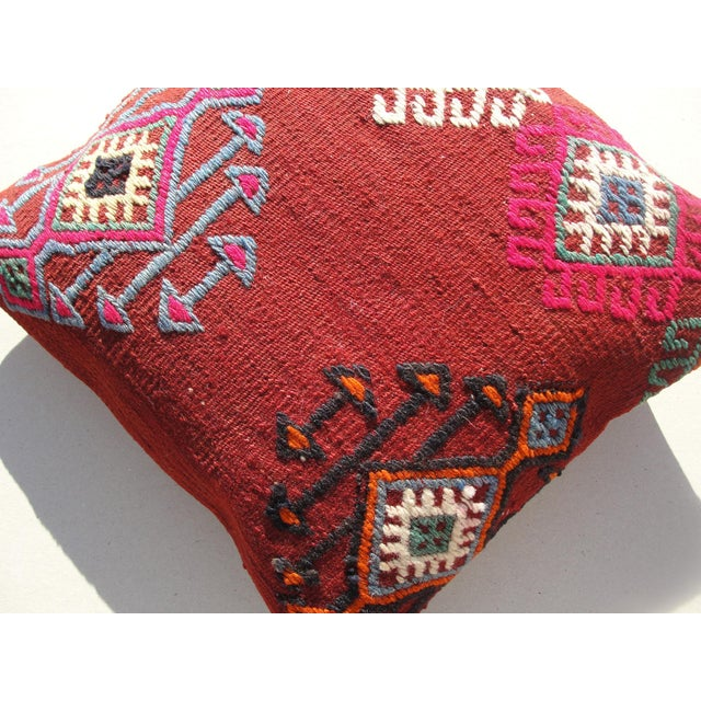 Kilim Rug Pillow For Sale - Image 9 of 11
