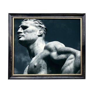 James White Statuary at the Stadio Dei Marmi, Rome Photograph For Sale