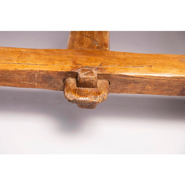 Oak Early 19th Century Rustic Table For Sale - Image 7 of 13