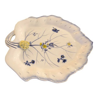 Spode Leaf Shaped Platter For Sale