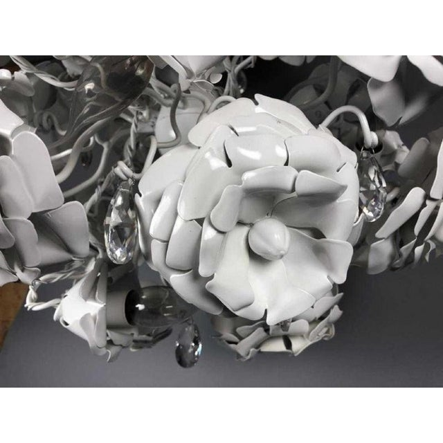 """2010s Brand Van Egmond Floral """"Love You Love You Not"""" Chandelier For Sale - Image 5 of 9"""