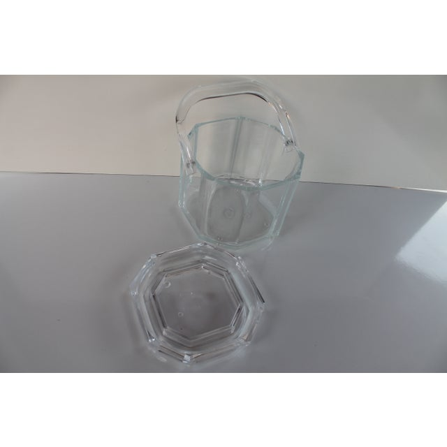 Albrizzi Style Mid-Century Lucite Ice Bucket - Image 7 of 9