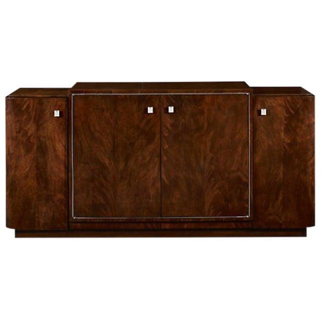 Ralph Lauren Duke Mahogany Low Media Cabinet For Sale