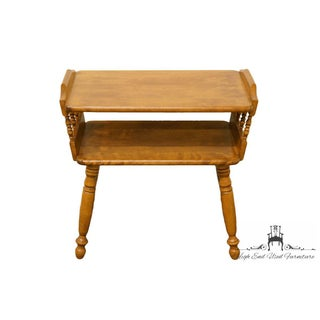 20th Century Traditional Ethan Allen Heirloom Maple Chairside End Table Preview