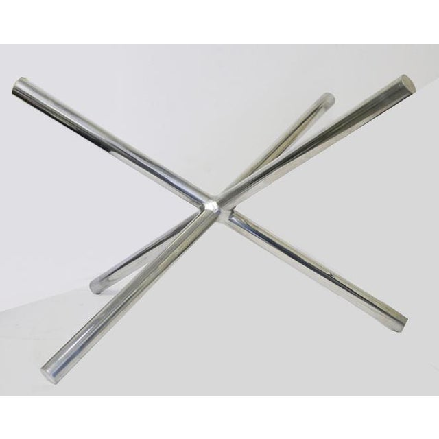 Mid-Century Modern Mid-Century Chrome Jax Tripod Table Attributed to Milo Baughman For Sale - Image 3 of 7