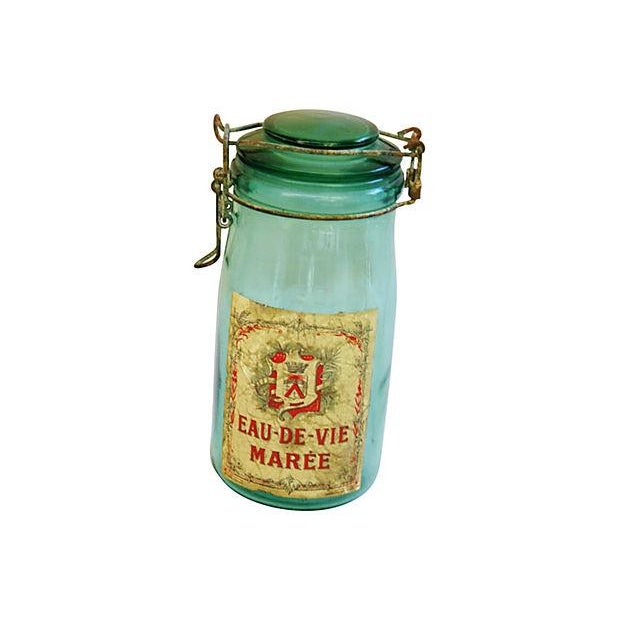 Early 1900s French Preserve Canning Jars - A Pair - Image 4 of 5