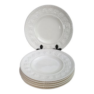 Vintage Wedgewood Salad Plates - Set of 6 For Sale