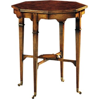 Scarborough House Octagonal End Table For Sale