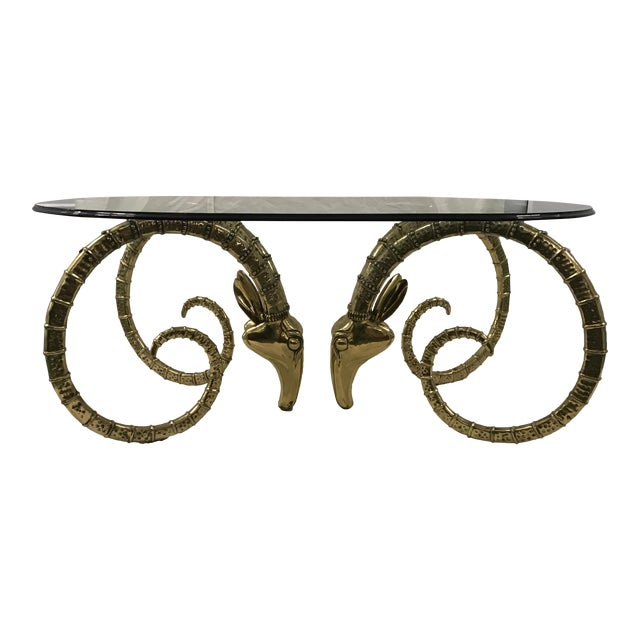 Brass Ibex Dining Table - Image 1 of 4