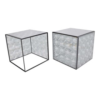 Lens Side Tables by Patricia Urquiola for B & B Italia - a Pair For Sale