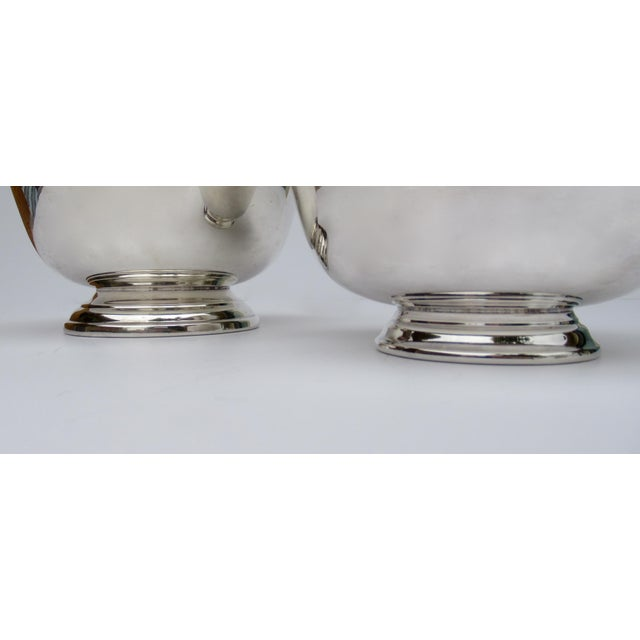 Silver Vintage Silver Plate Reed & Barton and Poole Silversmith Paul Revere Side Dish, Serving Bowls -Set of 2 For Sale - Image 8 of 12
