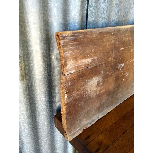 "Reclaimed Weathered Wood ""Marketplace"" Sign - Image 6 of 7"