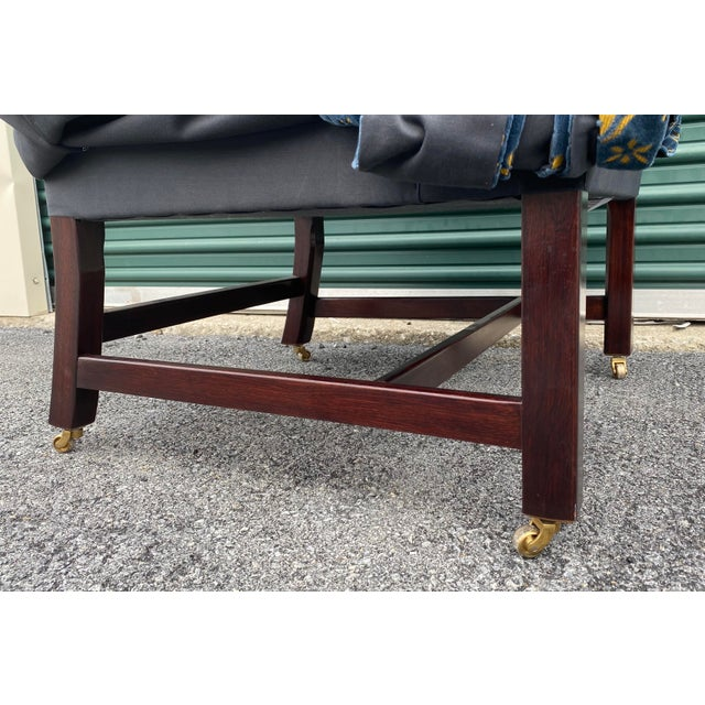 2010s George Smith Georgian Desk Chairs - a Pair For Sale - Image 5 of 7