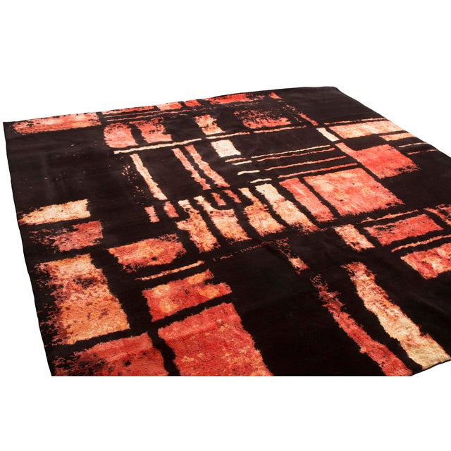 Rug & Kilim mid-century collection took years of study and designs before a carpet was produced. This ravishing rug...
