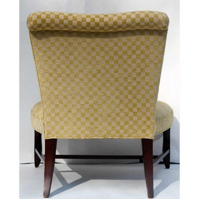 Vintage Slipper Chair & Ottoman by Barbara Barry - Image 6 of 7