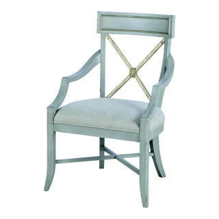 Century Furniture Madeline Arm Chair For Sale