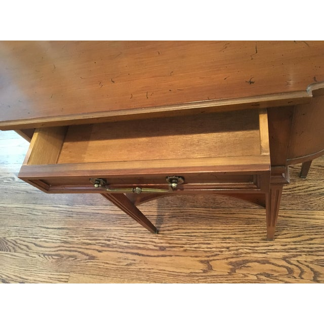 Hekman Wood Accent Table For Sale In Chicago - Image 6 of 10