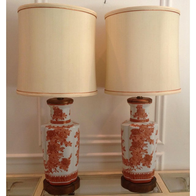 Frederick Cooper Chinoiserie Table Lamps - A Pair - Image 2 of 5