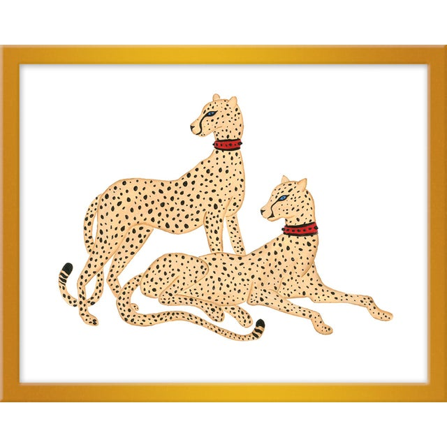 "Contemporary Small ""Camden & Carolina"" Print by Willa Heart, 20"" X 16"" For Sale - Image 3 of 3"
