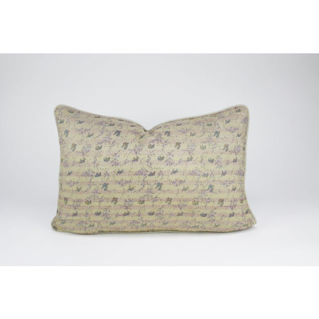 Bengal Silk Ivory Pillow - Image 3 of 3