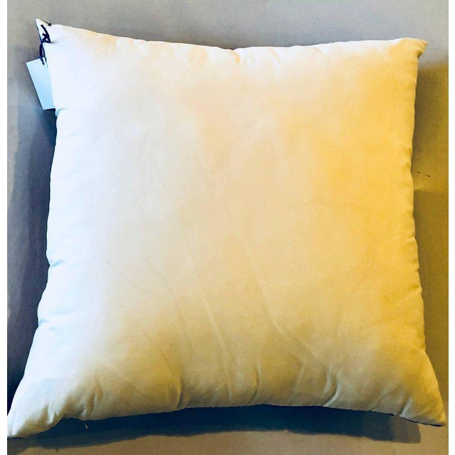 """Enormous French Hollywood Regency Style Hermès """"Torana"""" Silk Stuffed Pillow For Sale - Image 9 of 11"""