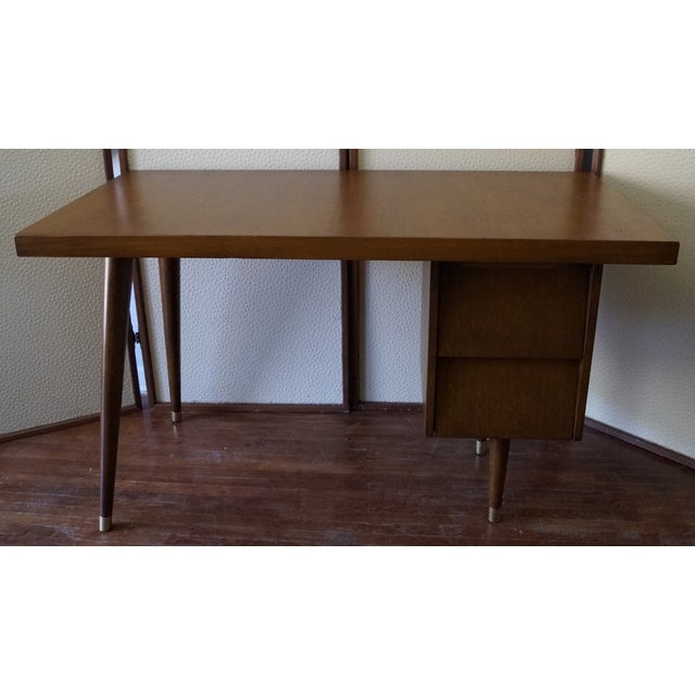 Barzilay Mid-Century California Modern Desk - Image 6 of 11