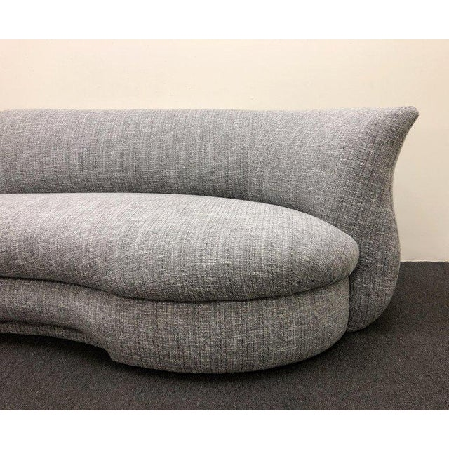 Fabric Three-Piece Sectional Sofa For Sale - Image 7 of 10