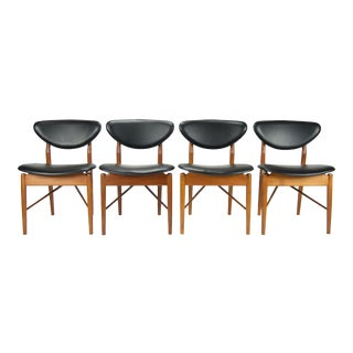 Finn Juhl Model 108 Dining Chairs - Set of 4 For Sale