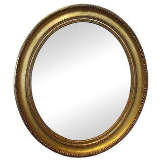 Louis XVI-Style Oval Mirror For Sale