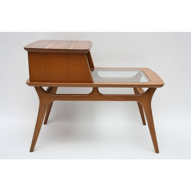 Heywood-Wakefield Heywood-Wakefield Two-Tiered Side Tables, 1960s, Usa For Sale - Image 4 of 10
