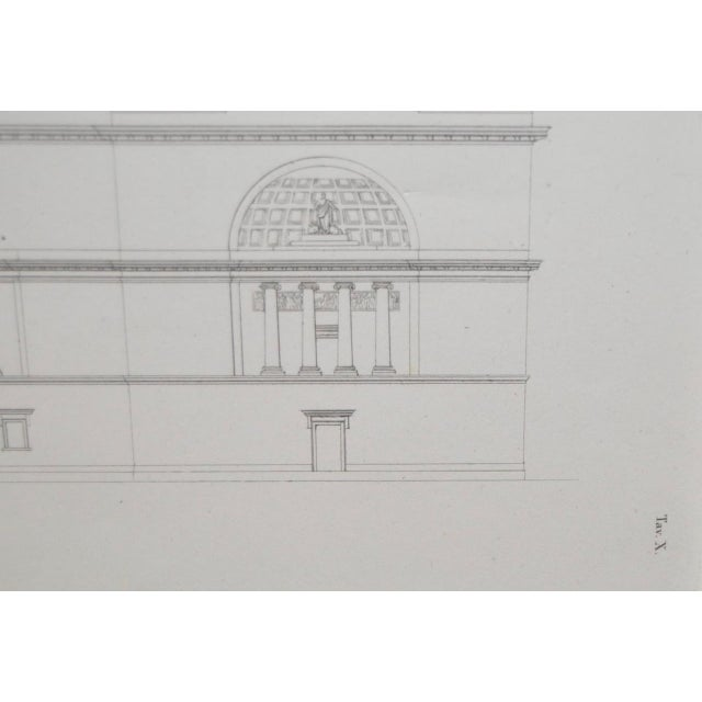 19th Century Architectural Engraving For Sale - Image 5 of 5