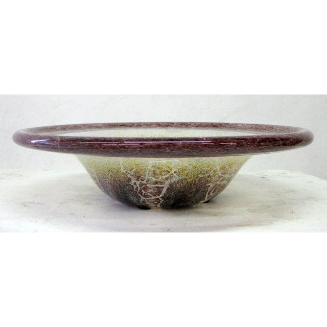 Blown Glass Serving Platter - Image 2 of 7