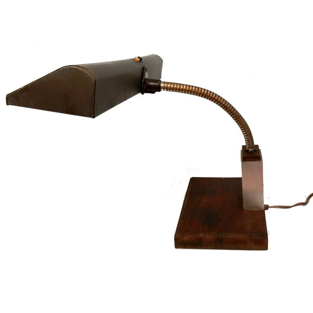 Art Specialty Goose Neck Lamp - Image 2 of 10
