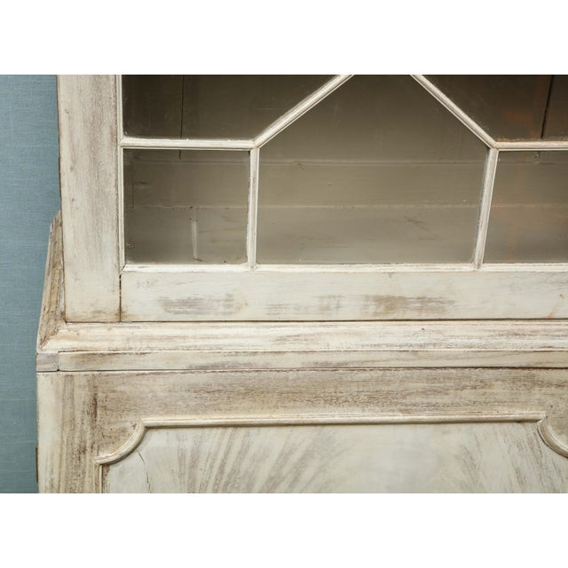 19th Century Painted English Cabinet For Sale - Image 9 of 13