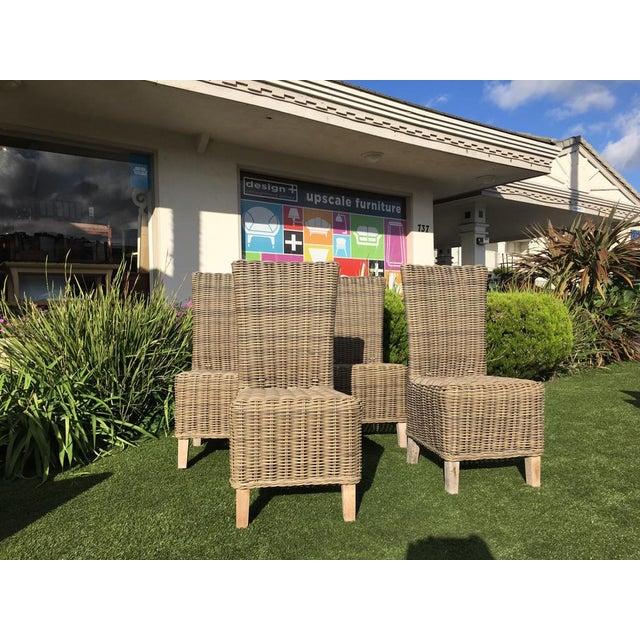 Restoration Hardware Majorca Side Chairs - Set of 4 - Image 11 of 11