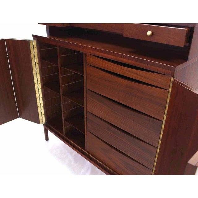 Lacquer Mid-Century Modern Paul McCobb for Calvin High Chest For Sale - Image 7 of 11