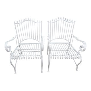 Outdoor Patio Chairs- A Pair For Sale