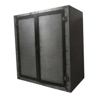 Industrial Two Door Cabinet