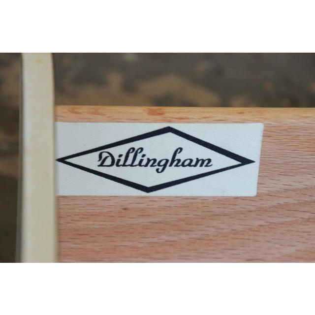 Merton Gershun for Dillingham Mid-Century Modern Walnut Credenza For Sale - Image 9 of 10