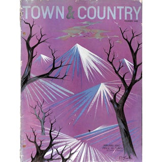 Town & Country January 1947 For Sale