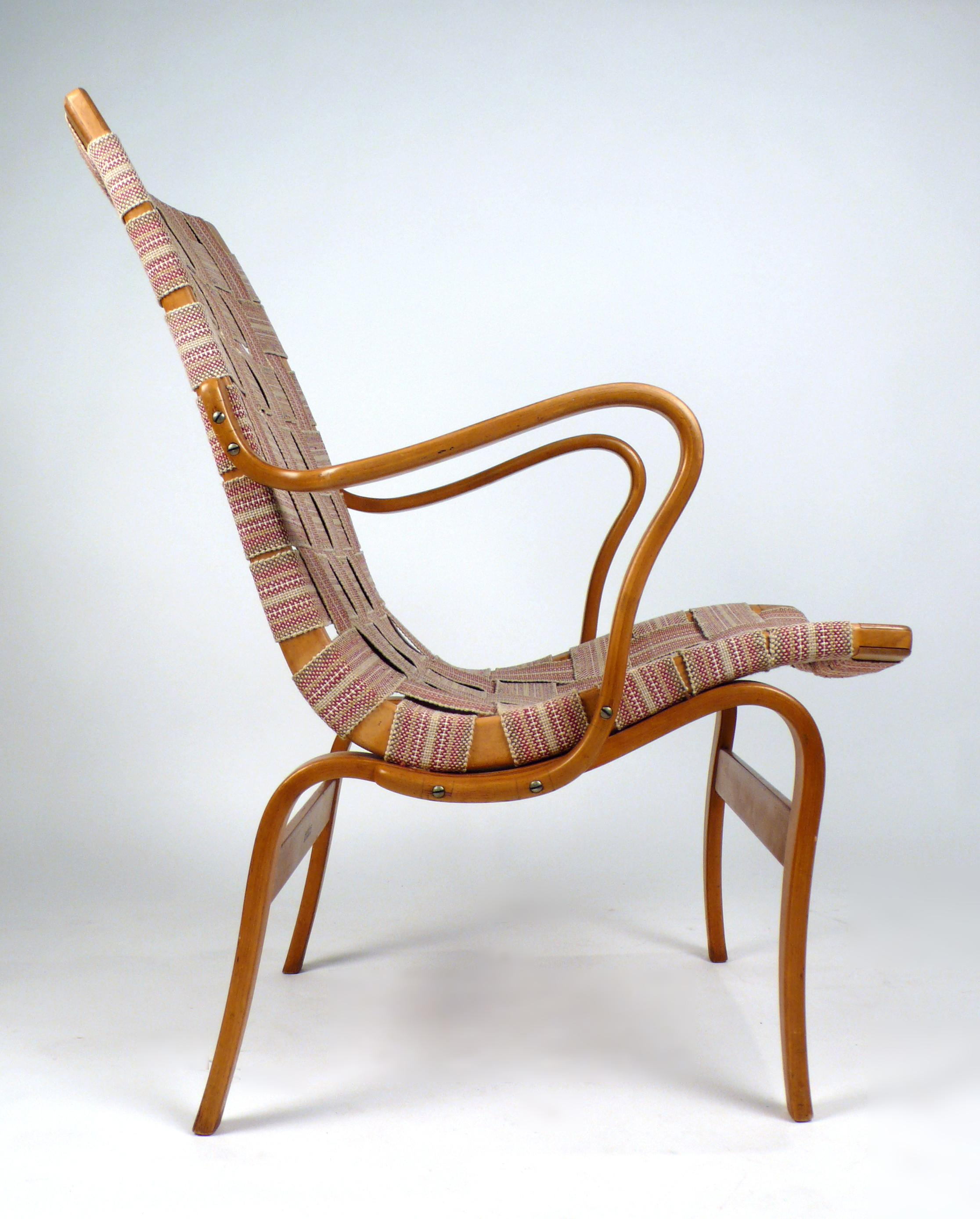 Early Bruno Mathsson Eva Chair   Image 2 Of 10