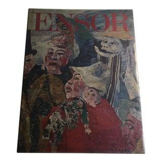 "1975 ""Ensor"" Art Book For Sale"