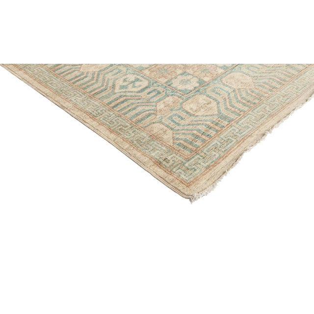 """New Khotan Hand-Knotted Rug - 9' 10"""" X 13' 9"""" - Image 2 of 3"""