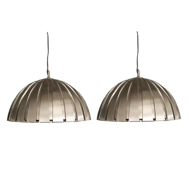 Elio Martinelli Suspension Lights - Set of 3 For Sale