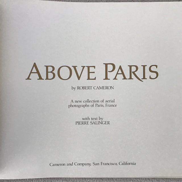 'Above Paris' Hardcover Book - Image 3 of 10