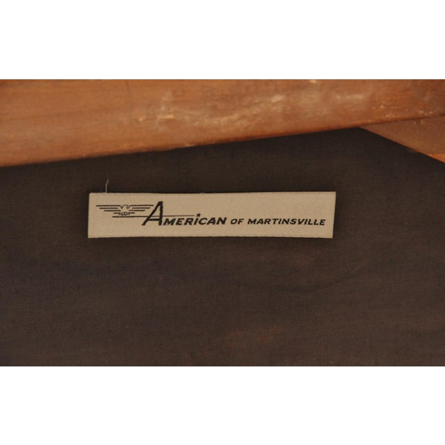 1960s Vintage American of Martinsville Campaign Chair For Sale In Tampa - Image 6 of 7