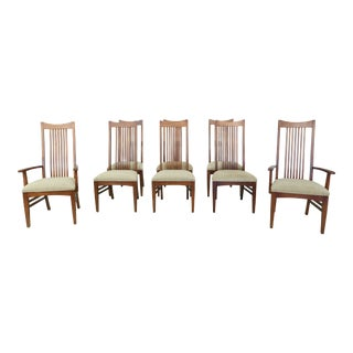 Set of 8 Lexington Bob Timberlake Cherry Dining Room Chairs For Sale